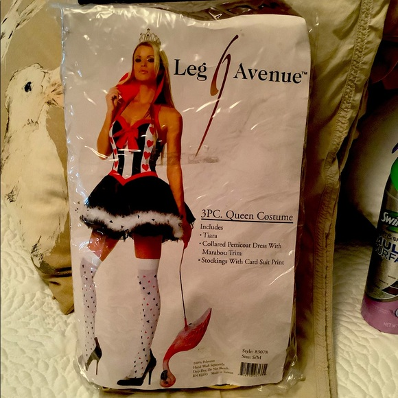 Naughty, sexy queen of hearts costume